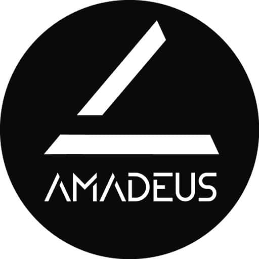 Logo d'Amadeus Pianos à Toulouse, pianos neufs et d'occasion, accord pianos, location piano, service concert.